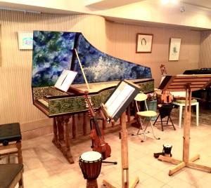「ノワ・アコルデ」音楽アートサロンにて